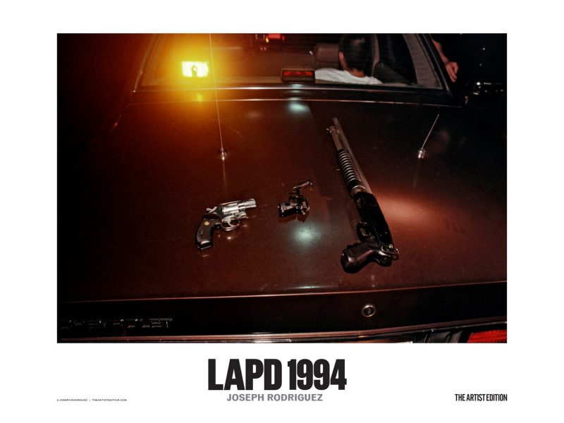 Poster LAPD 1994 Joseph Rodriguez